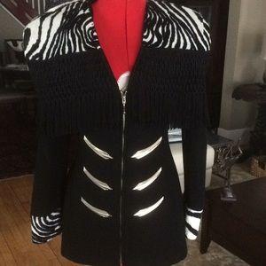 Jackets & Blazers - PARASICO Wool jacket with fringe